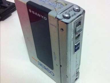 SANYO model M-G1 Walkman cassette vintage very rare NO RESERVE