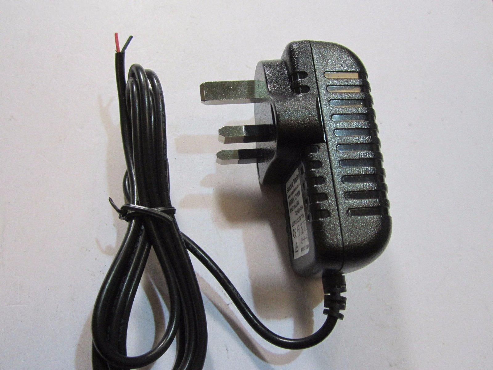 uk 12v 2a mains ac dc switching adaptor power supply red black rh ebay co uk 12V Regulator Wiring 12V VR6