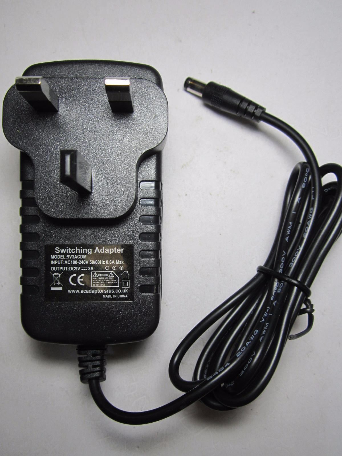 Altec Lansing Inmotion Im3 9v Ac Adaptor Power Supply