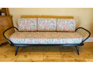Ercol Day Sofa Bed Studio Couch Cushion Covers Only Vintage Liberty Print Ebay