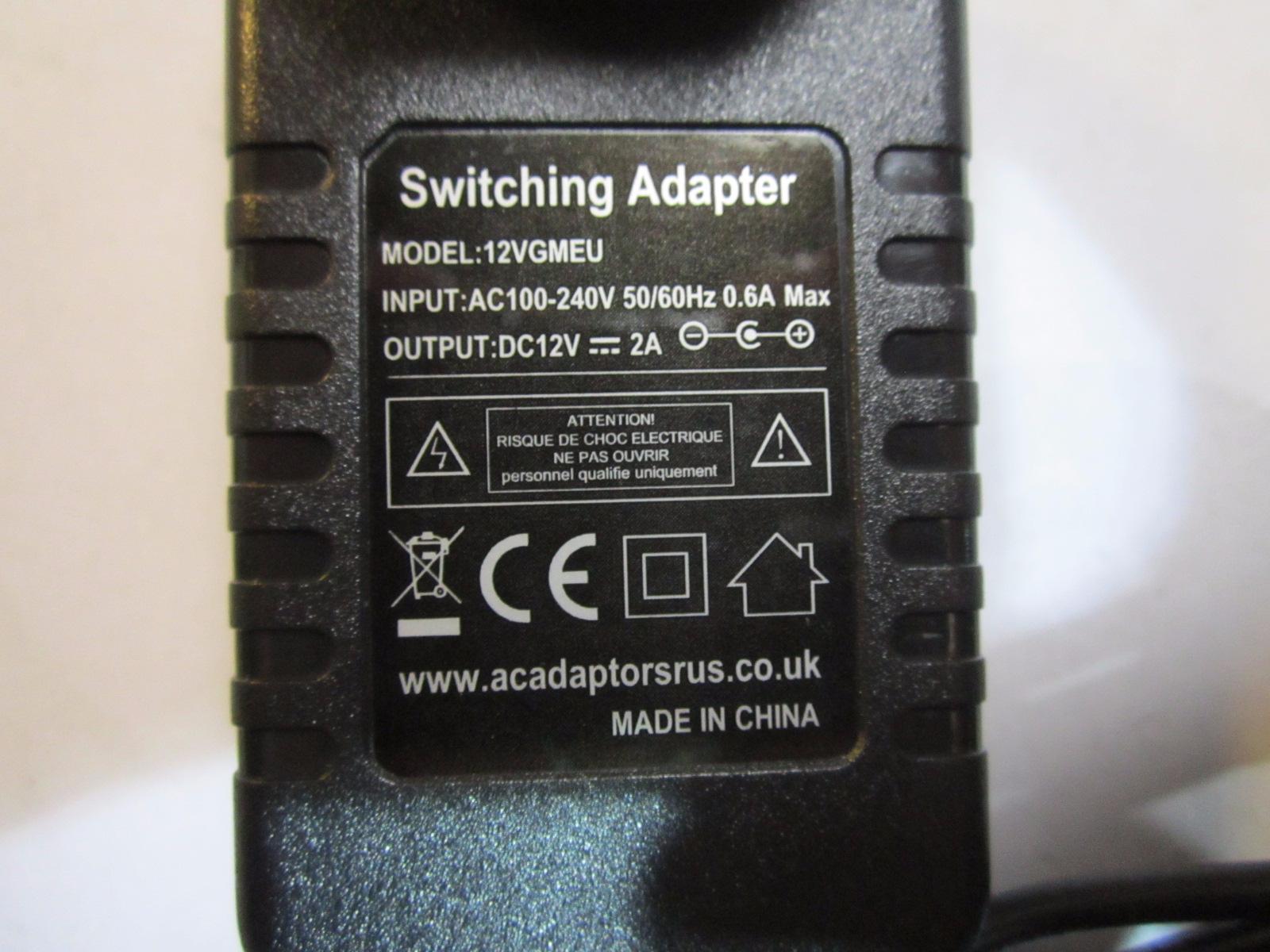 EU-2-PIN-Advent-Vega-Android-Tablet-12V-Alimentazione-AC-Adattatore-Caricabatteria-Alimentatore
