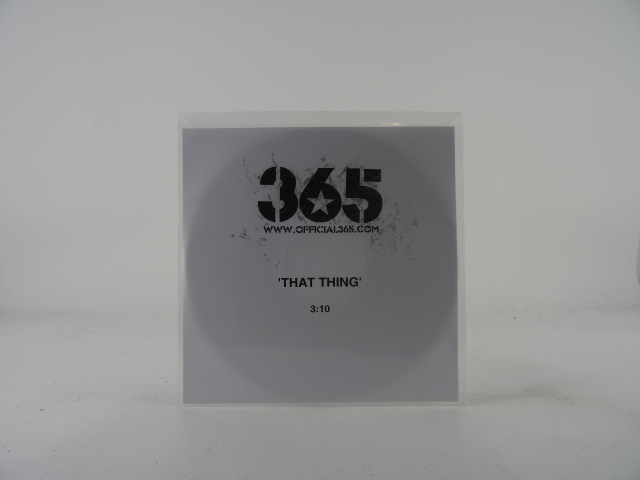 365-THAT-THING-M-M-1-Track-Promotional-CD-Single-White-Sleeve