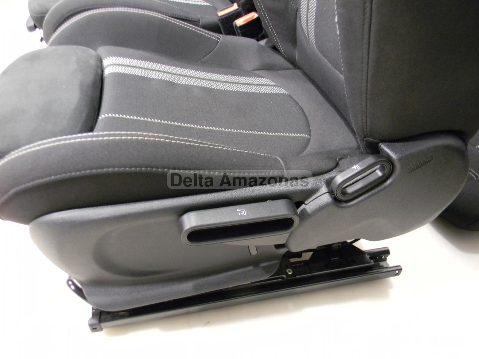 mini f56 ledersitze jcw sportsitze sitze leder dinamica stoff carbon black ebay. Black Bedroom Furniture Sets. Home Design Ideas