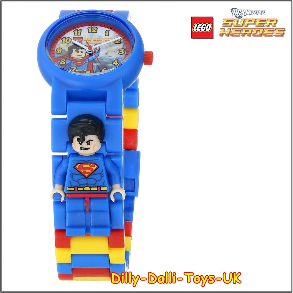 Lego Dc Super Heroes Superman Buildable Watch Minifigure Link Star Wars Boba Fett Kids 8020448 Many Other Gifts Available In Our Ebay Shop Please Use The Basket To Benefit From Combined Postage Discounts
