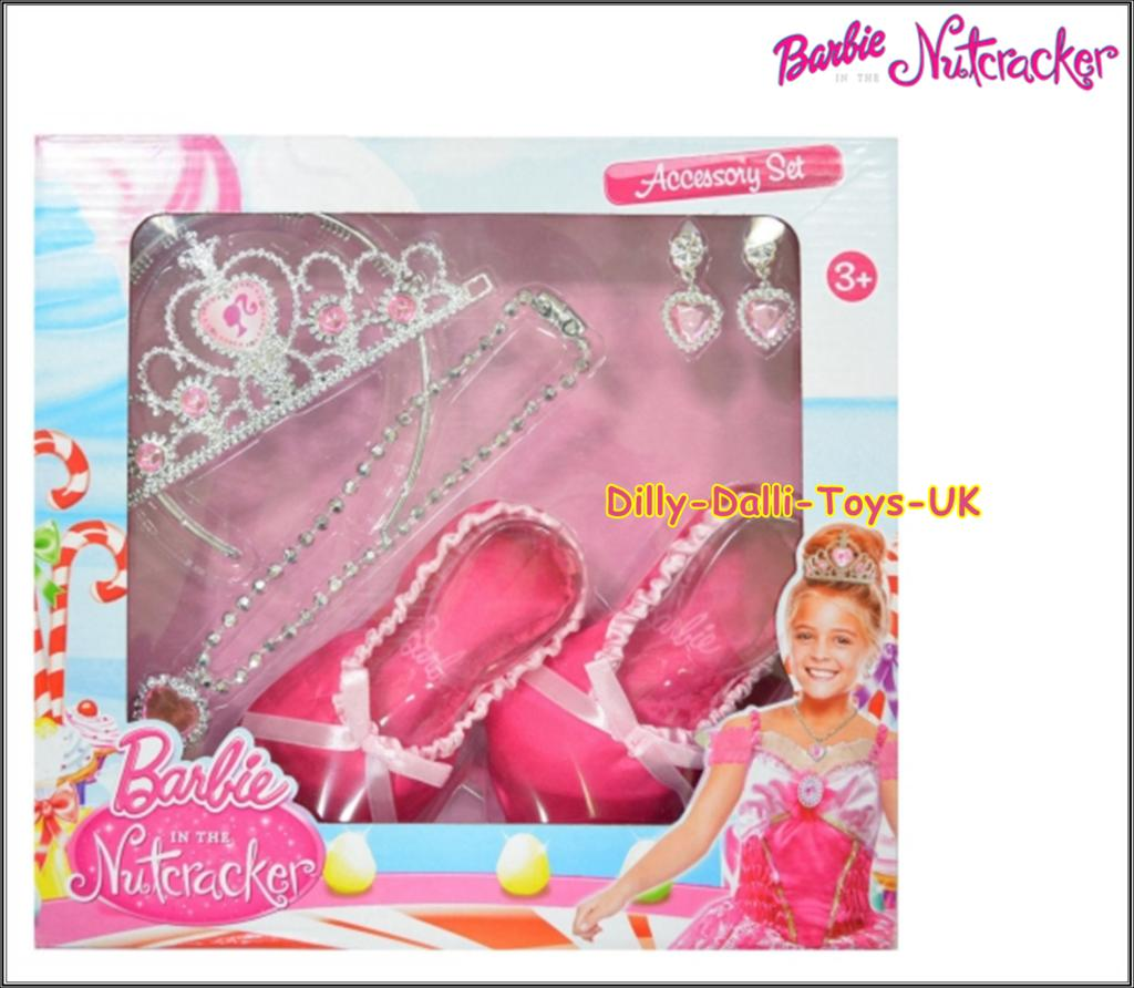 barbie nutcracker fancy dress ballerina set ballet shoe