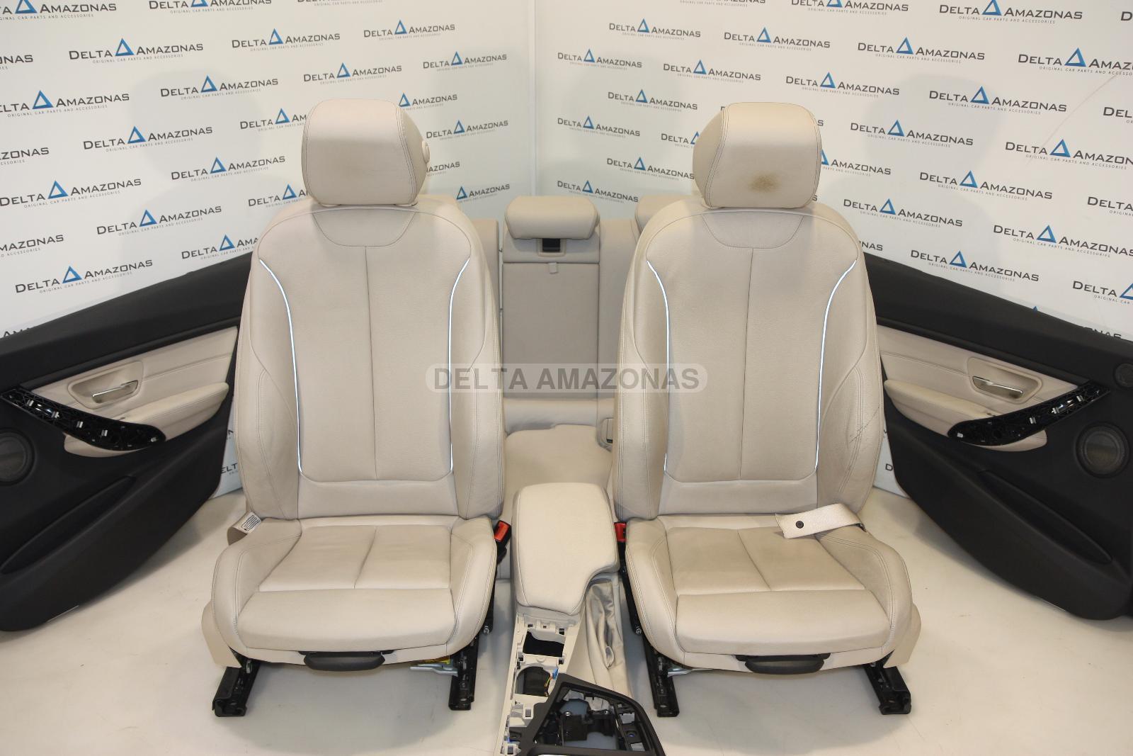 Bmw F30 Sport Leather Seats Seats Sport Seats Leather Interior Dakota Oyster Ebay