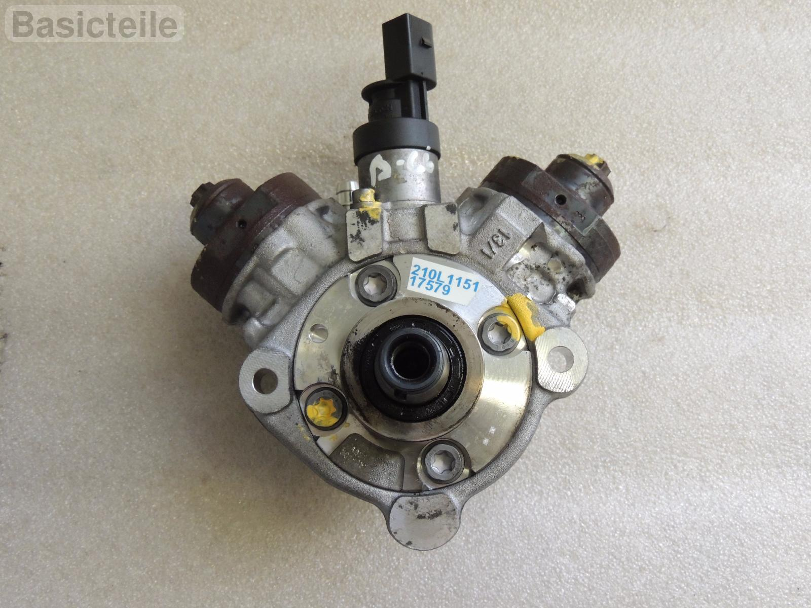 BMW X5 E70 X-5 E71 high pressure fuel pump Diesel Injector