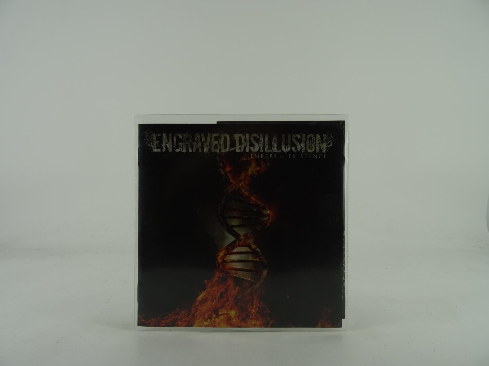 ENGRAVED DISILLUSION, EMBERS OF EXISTENCE, 409, EX/EX, 10 Track, Promo CD Album,