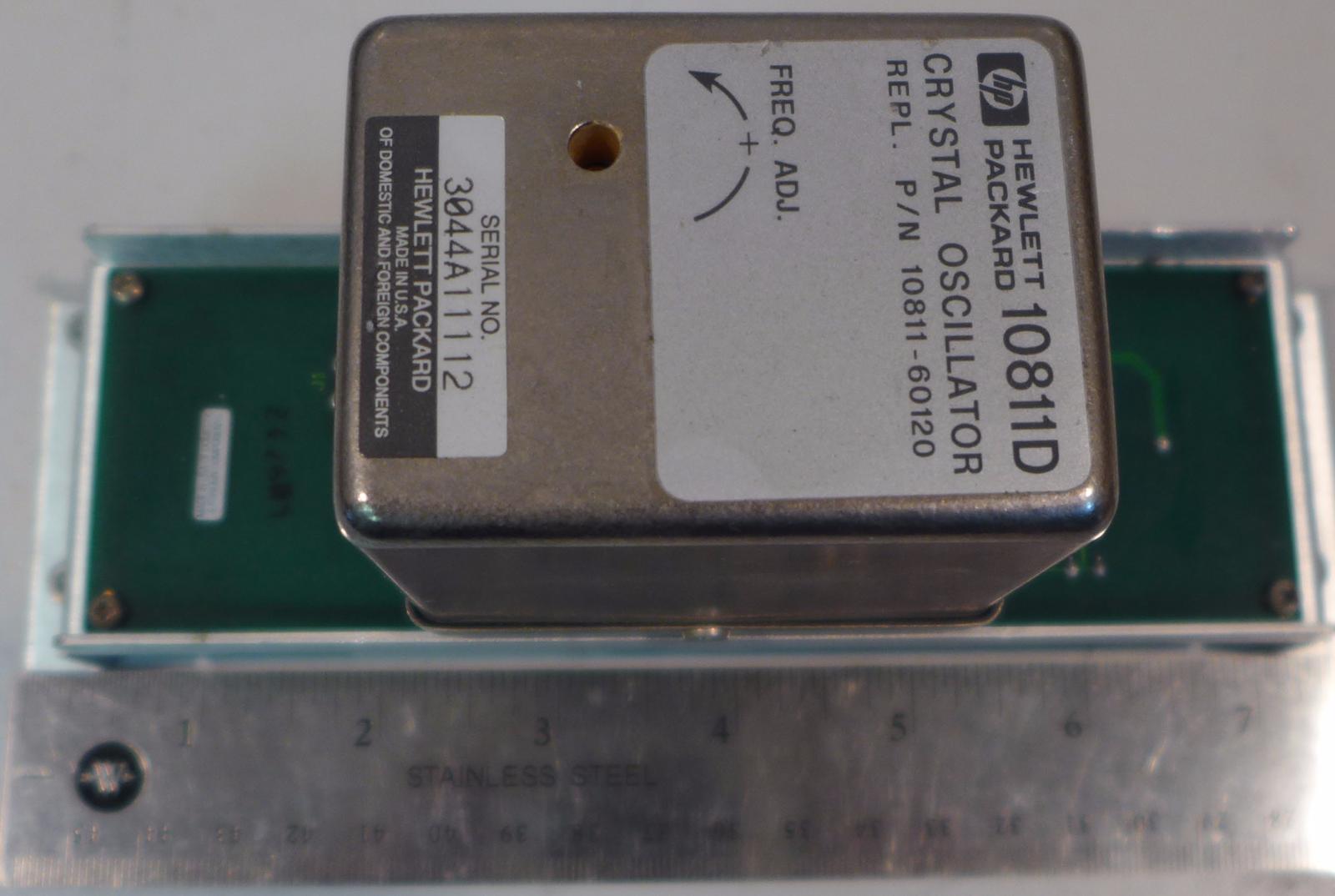 Agilent Hp 10811d Crystal Oscillator 10000000 Mhz 11 Ebay Using Ttl Photo Gallery