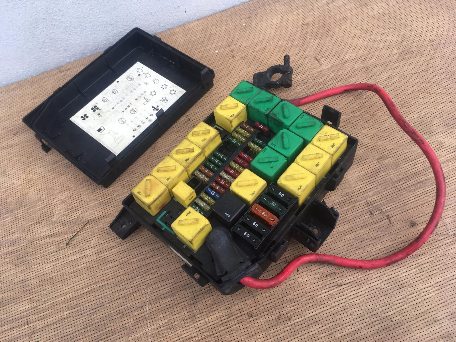 Range Rover P38 Fuse Box New | Wiring Liry on