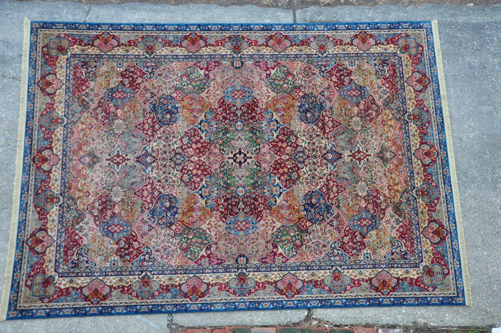Karastan Rug Samovar Collection 900 903 Kirman Panel 8 8x12 Tea Wash