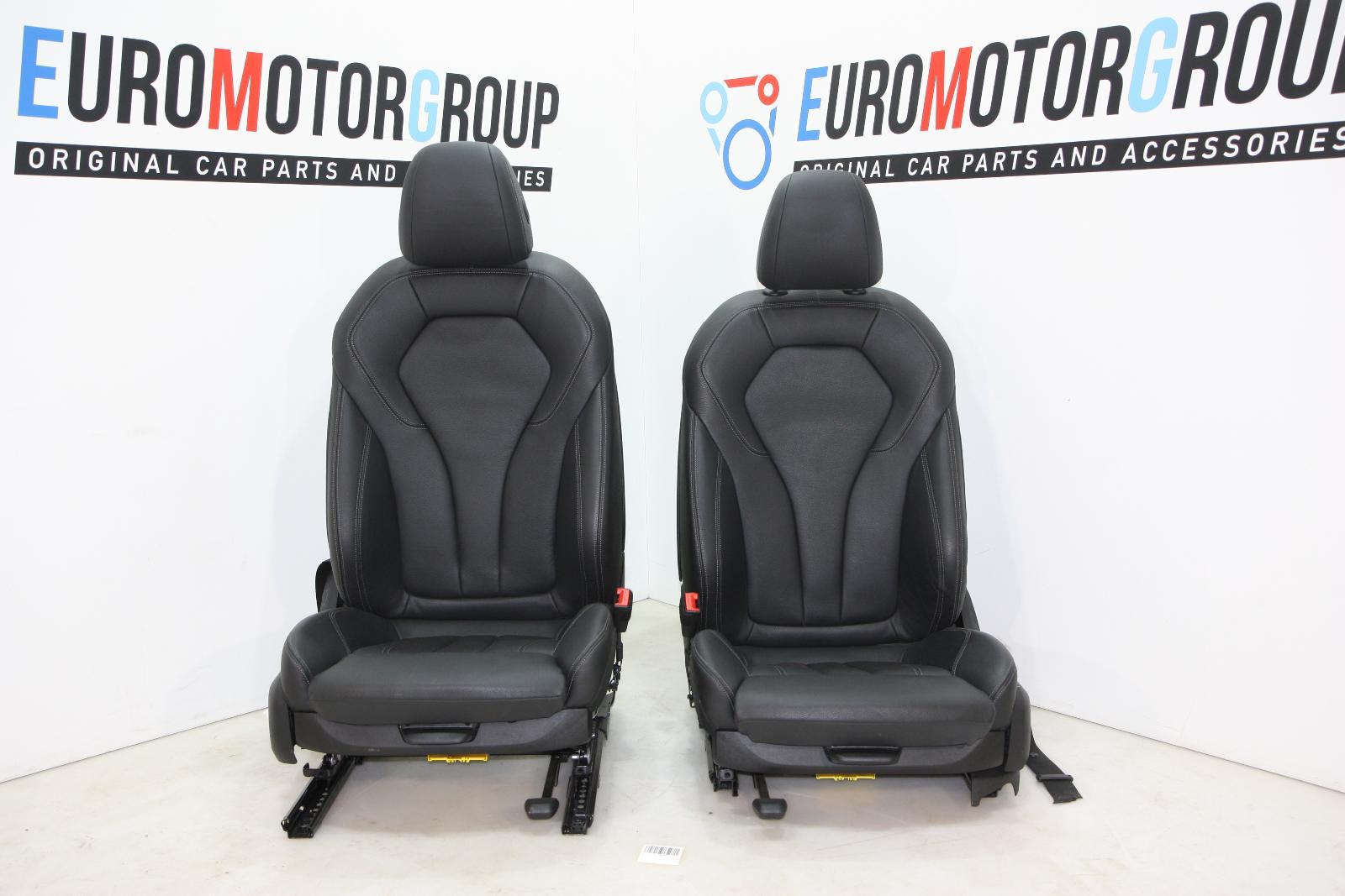 bmw 5er G30 Sport Seats Front Lederausstattung LEDER DAKOTA SCHWARZ ...