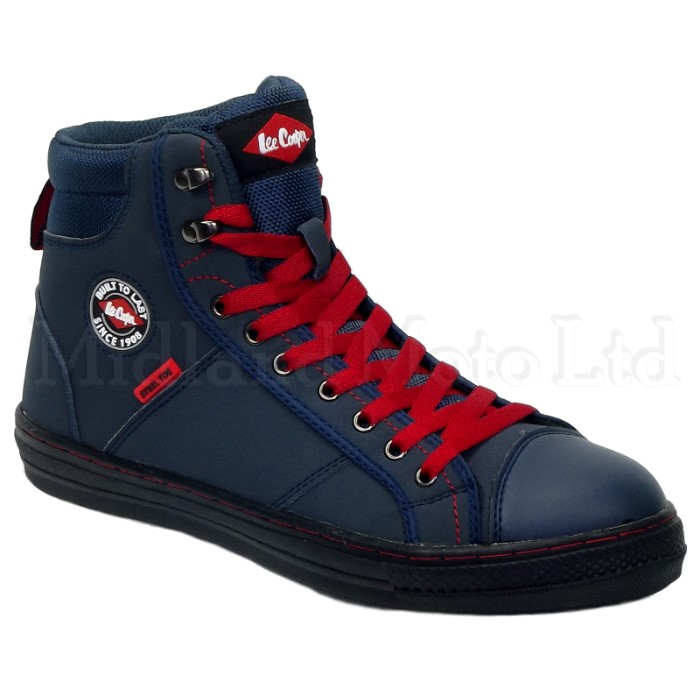 Lee Cooper Steel Toe Cap Navy Baseball Style Safety Boots