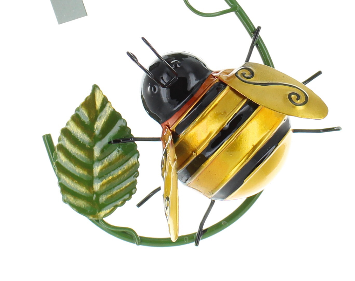 Fountasia Metal Wall Art Climbing Bumble Bee or Ladybird Hooks ...