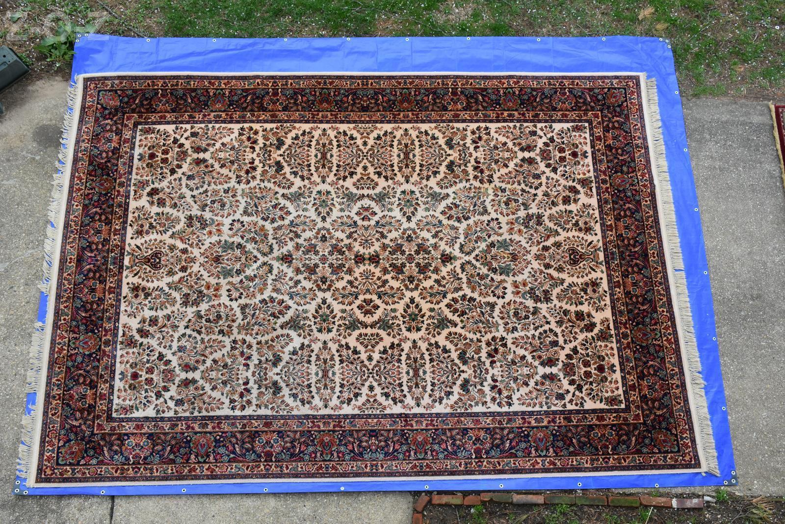 Karastan Rug Original Collection 700 760 Ivory Sarouk 10x14 Very
