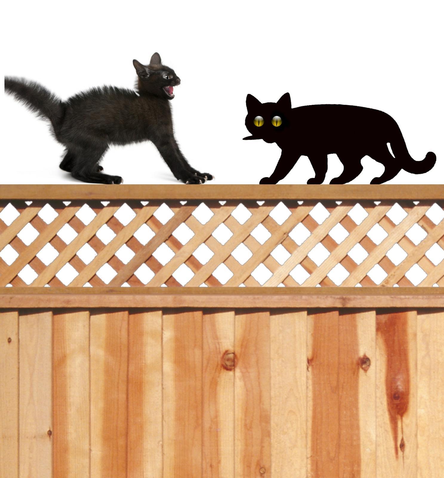 2x Scare Cat Garden Scarer Stop Pest Control Deterrent